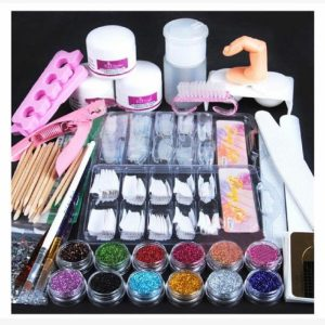 Uñas de gel – kit completo
