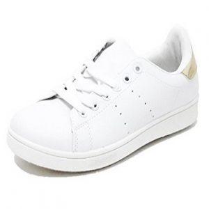 Zapatillas casual Brandelia blancas