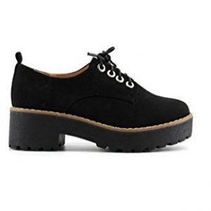 Zapato plano Modelisa con plataforma